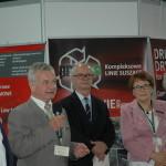 Uroczystość otwarcia Targów (od lewej: Wojciech Mazurkiewicz, dr inż. Edmund Wach, Włodzimierz Piotrowski, Urszula Wojciechowska, prof. dr hab. Roman Hejft)