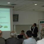 O opłacalności produkcji pelet mówił Wojciech Mazurkiewicz z toruńskiej firmy AES